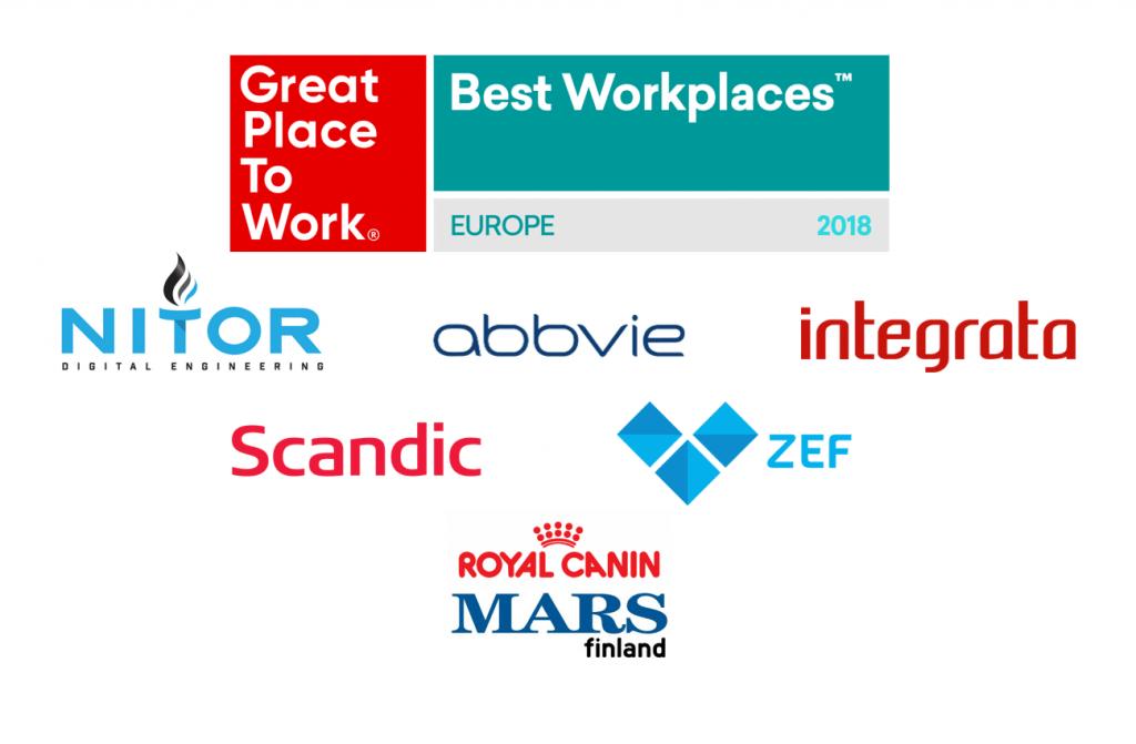 Euroopan Parhaat Työpaikat