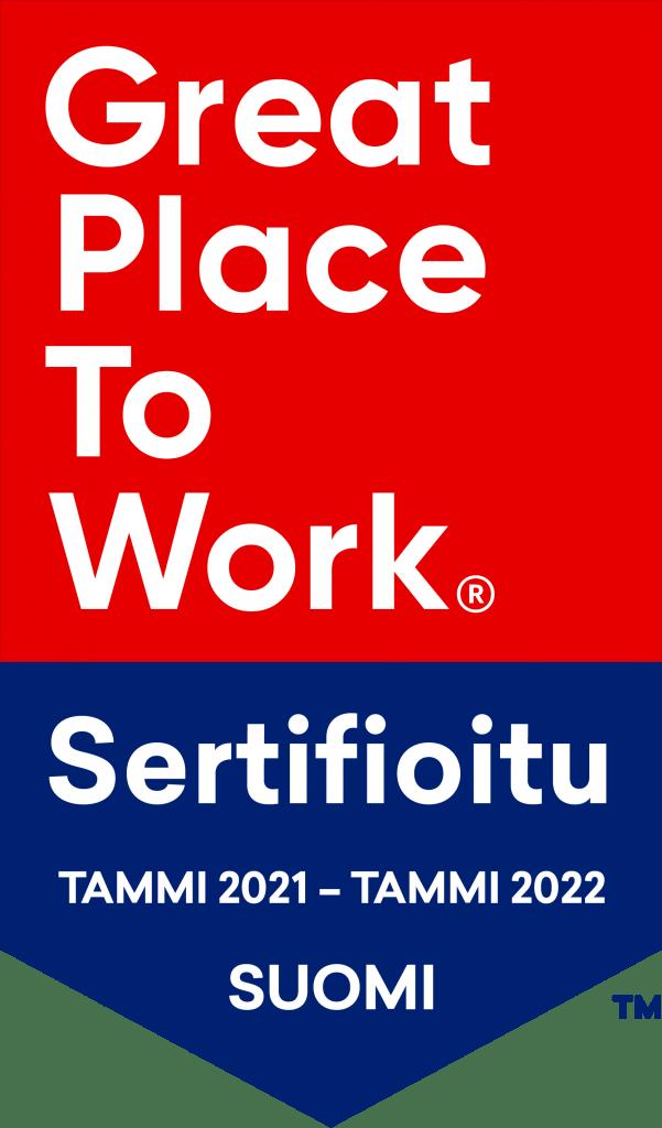 Great Place to Work -sertifioitu